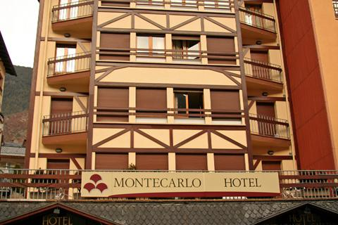 Korting skivakantie Grandvalira ⛷️Hotel Montecarlo