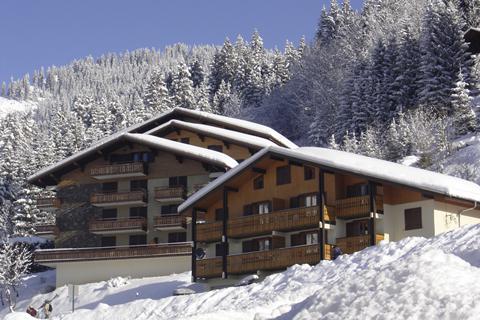 Goedkope skivakantie Les Portes du Soleil ⛷️Résidences Châtel Centre