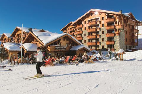 Super wintersport Les Trois Vallées ⛷️Résidence Les Alpages de Réberty