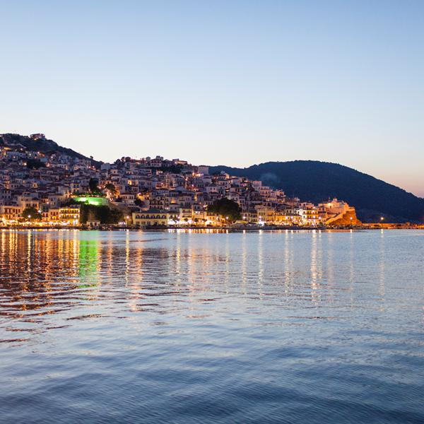 Skopelos Stad