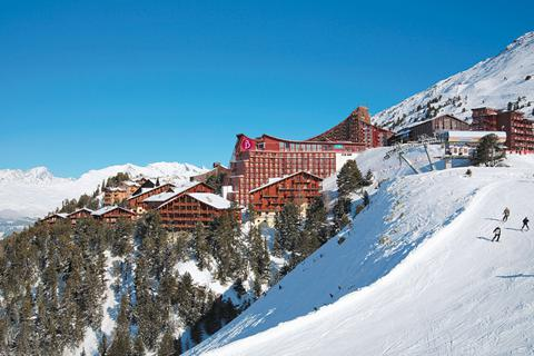 Goedkope wintersport Paradiski ⛷️Hotel Club Belambra L'Aiguille Rouge