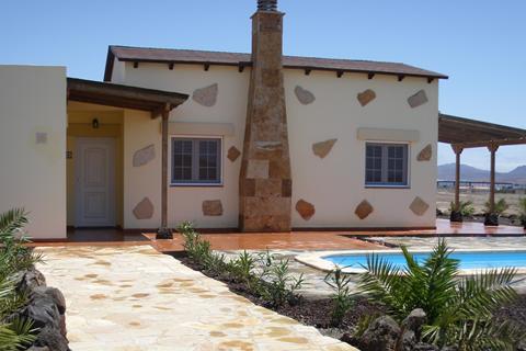 Goedkope zonvakantie Fuerteventura - Villa's La Fuentita