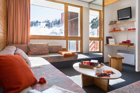 Goedkope skivakantie Paradiski ⛷️Résidence Maeva Bellecôte