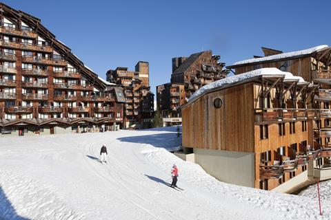 Korting wintersport Les Portes du Soleil ⛷️Résidences Le Saskia Falaise