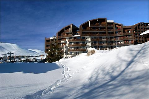 Goedkope wintersport Alpe d'Huez Grand Domaine Ski ⛷️Résidence Odalys Le Christiania