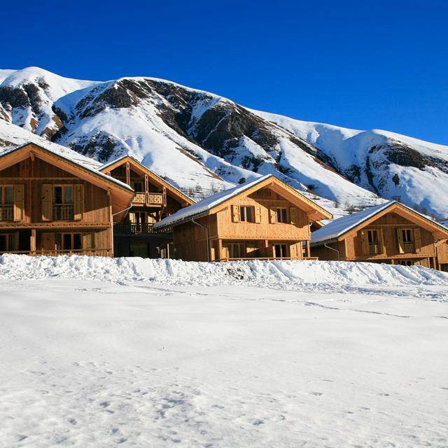 Meer info over Rés. Prestige Odalys Les Chalets de L'Arvan II  bij Sunweb-wintersport