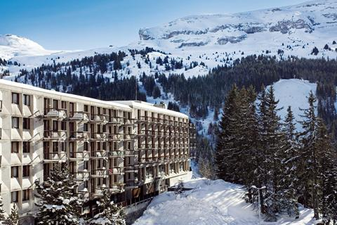 Goedkope skivakantie Le Grand Massif ⛷️Hotel Club MMV Le Flaine
