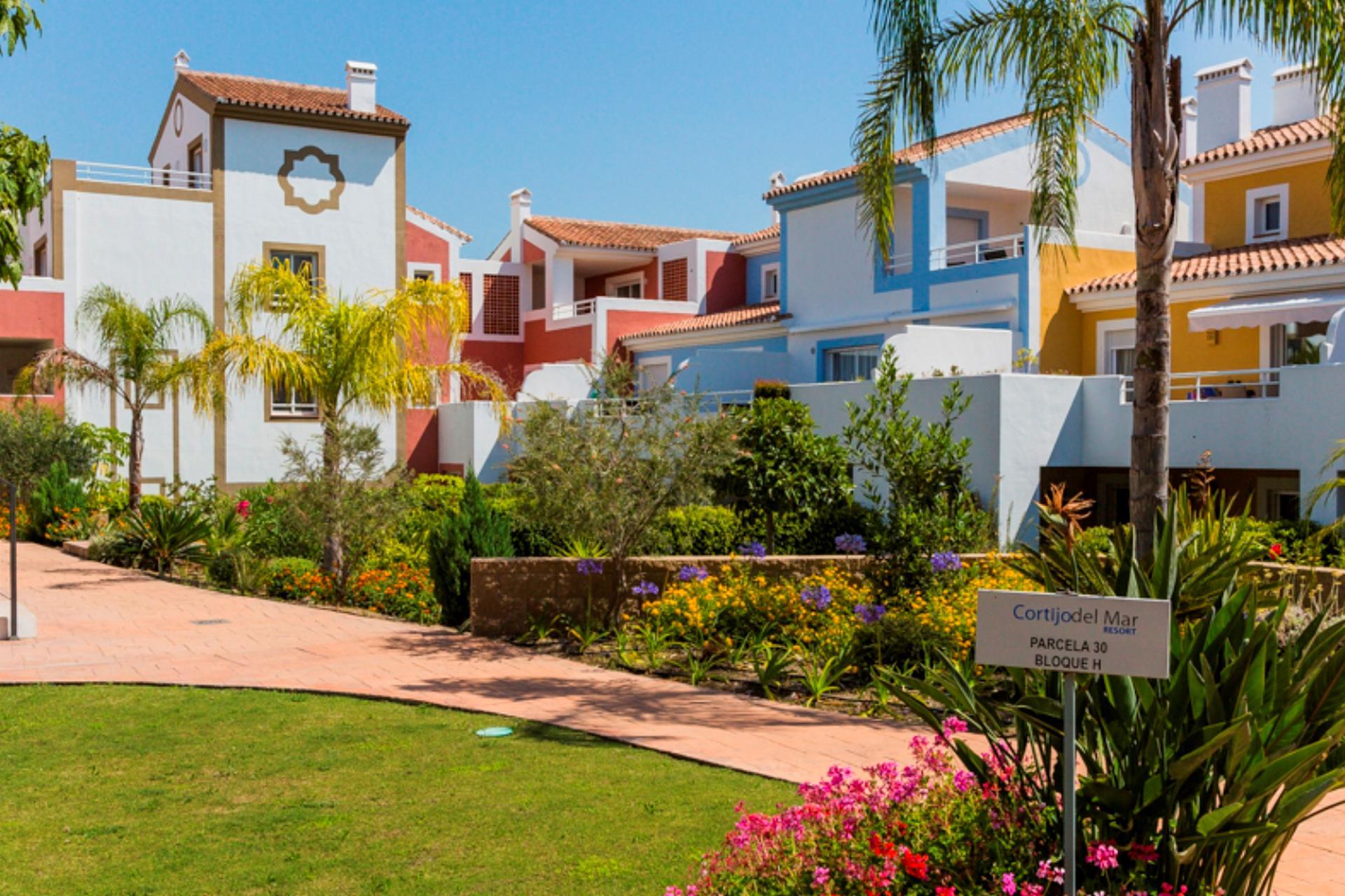 aparth tel cortijo del mar location de voiture incluse en costa del sol andalousie. Black Bedroom Furniture Sets. Home Design Ideas