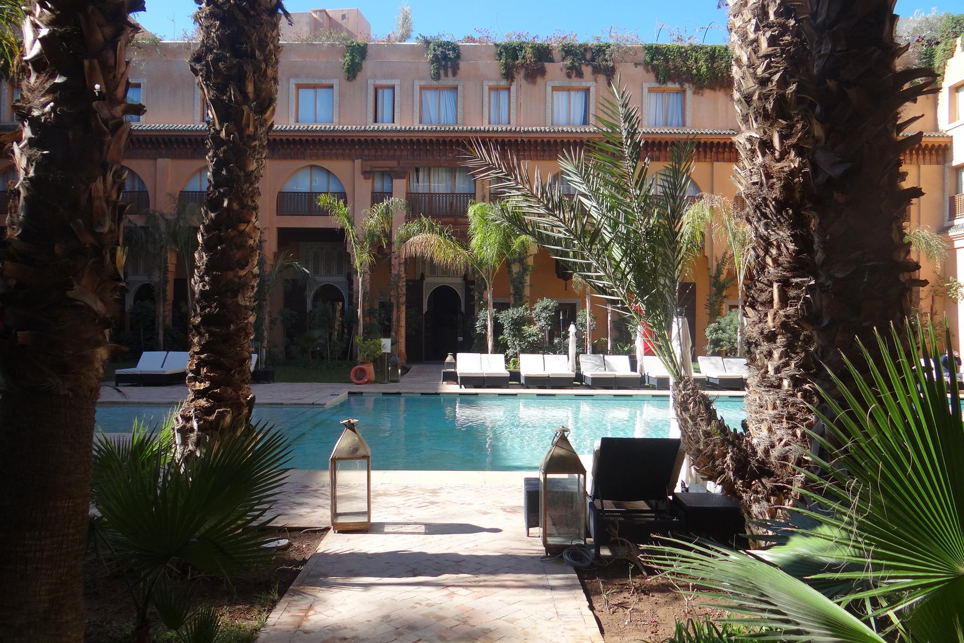 Hotel Les Jardins De La Koutoubia En Marrakech Maroc Vacances Au