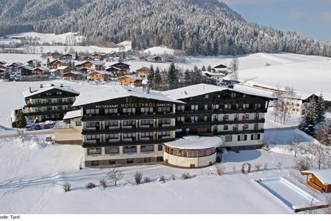 Goedkope skivakantie Skiwelt Wilder Kaiser-Brixental ⛷️Hotel Tyrol