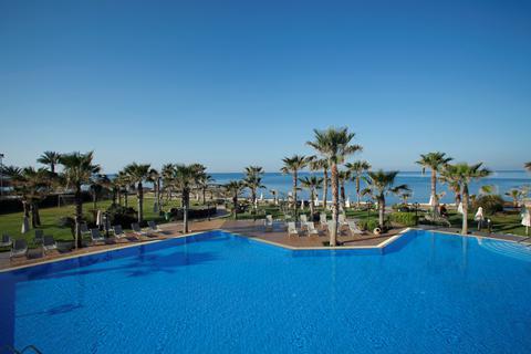 Fantastische vakantie Cyprus. 🏝️Hotel Aquamare Beach & Spa - winterzon