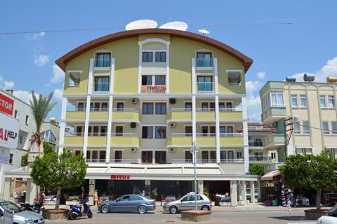 Goedkope zonvakantie Turkse Rivièra - Appartementen Mitos
