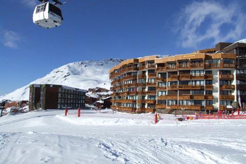 Goedkope wintersport Les Trois Vallées - Résidence Roc de Peclet I