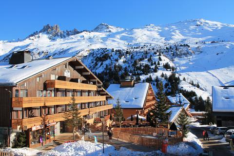 Goedkope wintersport Les Trois Vallées ⛷️Hotel Le Mottaret