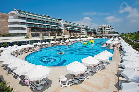 Fantastische zonvakantie Turkse Rivièra 🏝️Hotel Crystal Waterworld Resort & Spa
