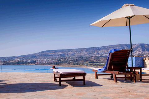 Goedkope vakantie Cyprus. 🏝️Theo Sunset Bay Hotel & Apt. - winterzon