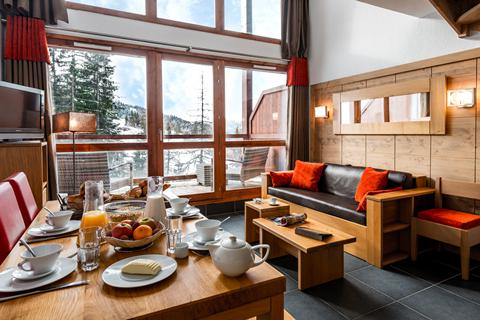 Goedkope wintersport Paradiski ⛷️Résidence Lagrange Vacances Le Roc Belle Face