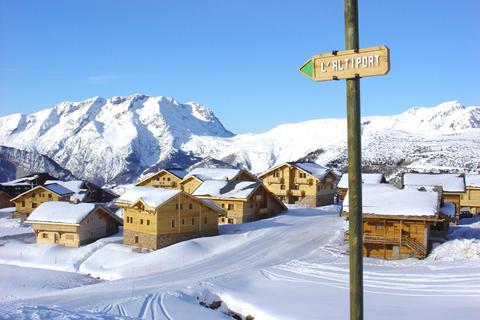 Fantastische wintersport Alpe d'Huez ⛷️Les Chalets de L'Altiport