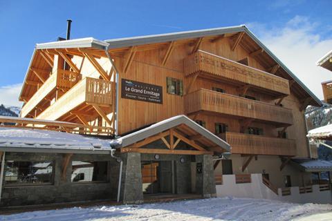 Goedkope wintersport Les Portes du Soleil ⛷️Résidence Le Grand Ermitage