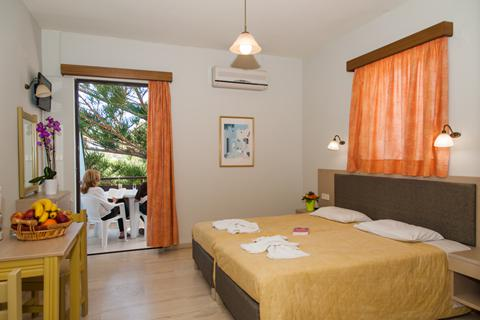 Goedkope zonvakantie Kreta - Appartementen Ermis