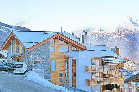 Korting skivakantie Les Quatre Vallées ⛷️Chalet Ski Heaven Veysonnaz
