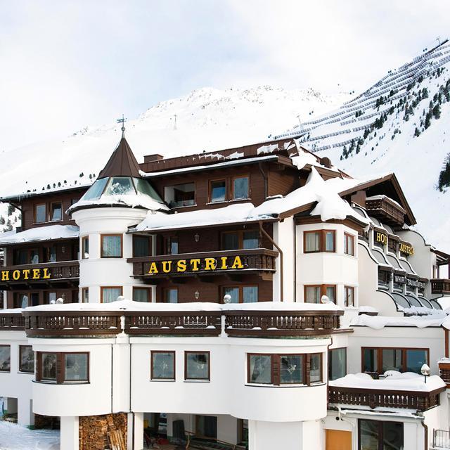 Hotel Austria Bellevue Extra ingekocht Tirol