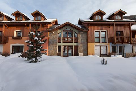 Goedkope skivakantie Serre Chevalier Vallée ⛷️Les Chalets du Jardin Alpin - logies