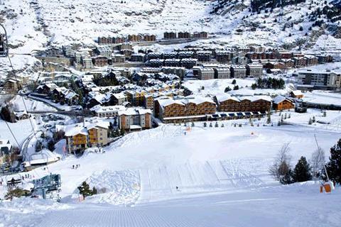 Goedkope skivakantie Grandvalira ⛷️Residence Andorra El Tarter