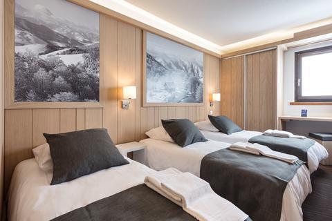 Top skivakantie Les Trois Vallées ⛷️Hotel Club MMV Les Arolles