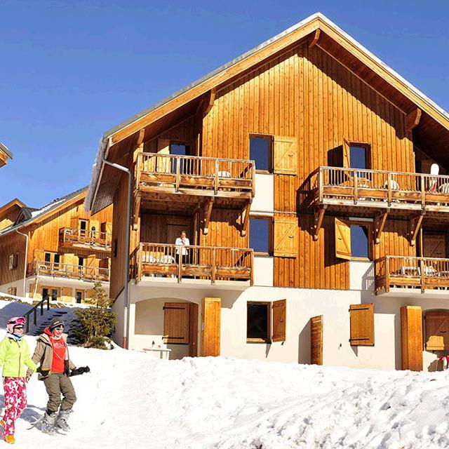 Meer info over Résidence Les Chalets des Marmottes (voordeeltarief)  bij Sunweb-wintersport
