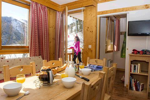 Goedkope skivakantie Les Sybelles ⛷️Résidence Le Balcon des Neiges