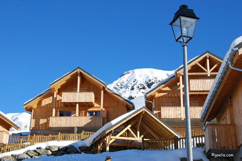 Korting wintersport Les Sybelles ⛷️Les Chalets des Ecourts