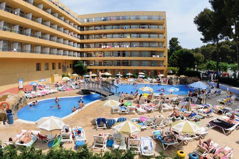 Goedkope zonvakantie Costa Dorada - Hotel Calypso