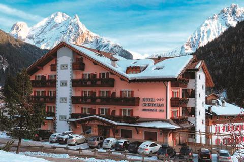 Super wintersport Dolomiti Superski ⛷️Hotel Cristallo