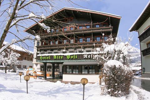 Goedkope wintersport Skiwelt Wilder Kaiser-Brixental ⛷️Hotel Alte Post