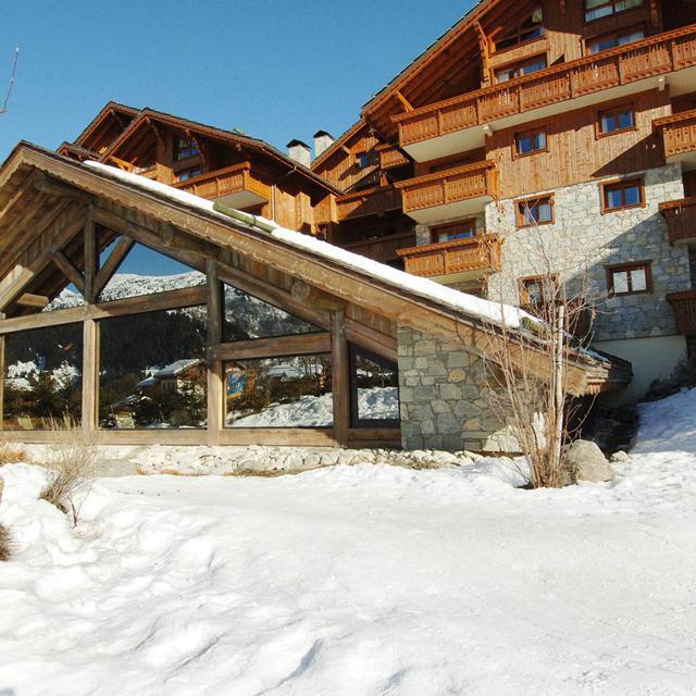 Meer info over Résidence Les Fermes de Méribel  bij Bizztravel wintersport