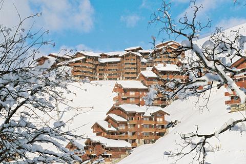 Korting skivakantie Les Trois Vallées ⛷️Résidence Les Sentiers du Tueda