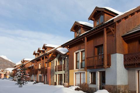 TIP wintersport Serre Chevalier Vallée ⛷️Résidence Les Chalets du Jardin Alpin - logies