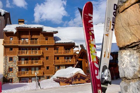 Goedkope skivakantie Tignes - Val d'Isère ⛷️Résidence La Ferme du Val Claret