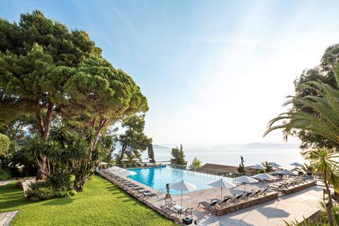 Geweldige zonvakantie Corfu 🏝️Hotel Kontokali Bay Resort & Spa