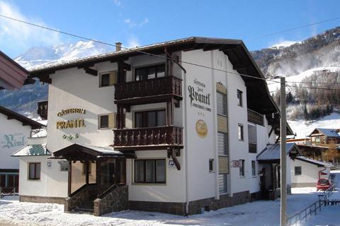 Goedkoop op wintersport Sölden-Hochsölden ⛷️Appartementen Gästeheim Prantl