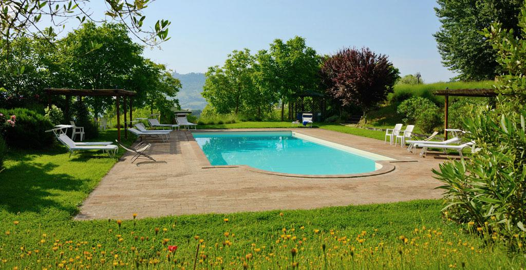 Bijzondere accommodaties Agriturismo La Torriola in Todi (Umbrië, Italië)