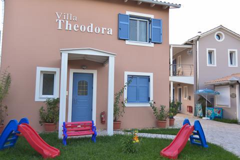Goedkoopste zonvakantie Lefkas - Appartementen Villa Theodora