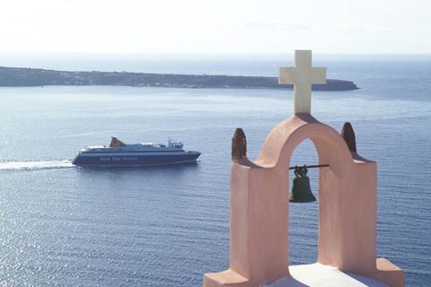 Goedkope zonvakantie Santorini - 8 dgn Santorini-Naxos (2* hotels)