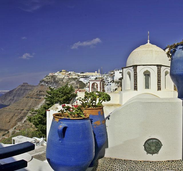 15 dgn Santorini-Mykonos-Naxos-Paros (3* hotels)