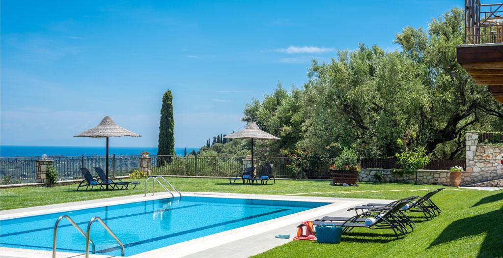 Bijzondere accommodaties Agrikia Villa in Lagathakia (Zakynthos, Griekenland)