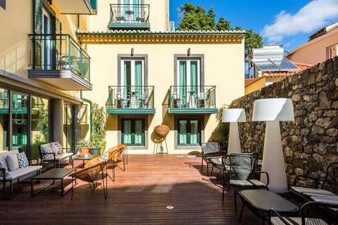 Goedkope vakantie Madeira 🏝️Castanheiro Boutique Hotel