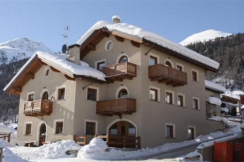 Goedkope wintersport Livigno ⛷️Appartementen La Fonte - Koko