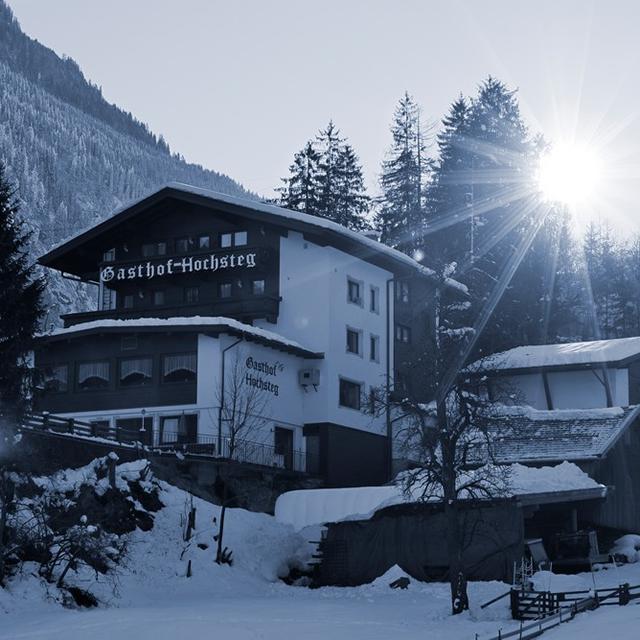 Mayrhofen - Gasthof Hochsteg
