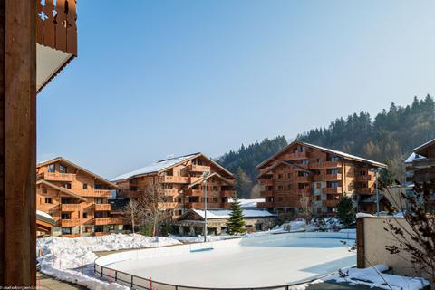 Goedkoop op wintersport Le Grand Massif ⛷️Résidence PV Premium Les Fermes du Soleil